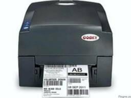 Принтер штрих кодов этикеток Godex G 500 термотрансферный