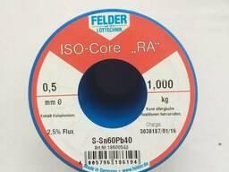 Припой в проволоке 0, 5мм с флюсом ПОС61 (Sn60Pb40) Felder