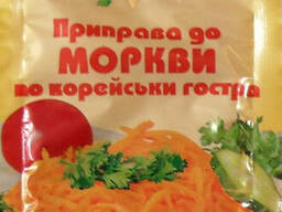 Приправа для морковки по корейски острая 30 гр. ТМ Мелисса.