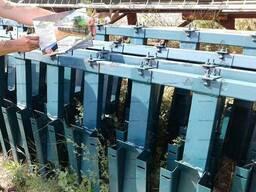 Приспособление для уборки подсолнечника на Лексион 470 - фото 2
