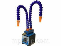 Приспособления с магнитным основанием для распыления СОЖ (Высота 370 мм) с 2 трубками и. ..