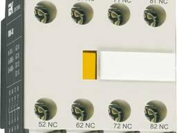 Приставка ПКИ-40 доп. контакты 4з IEK
