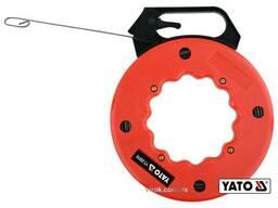 Пристрій для протягування кабелів на бобіні YATO 15. 3 м 3 х 1. 5 мм