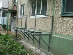 Пристроить балкон, металлический подвесной балкон