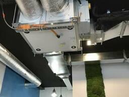 Приточно-вытяжные установки с рекуперацией тепла серии DUO