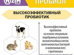 Пробиол ENZIM Feeds - Пробиотик для животных и птицы