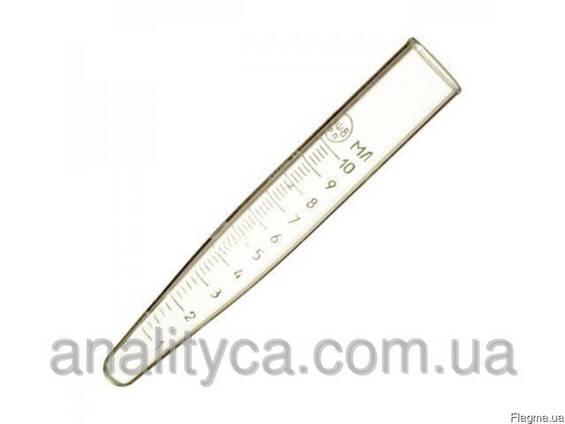 Пробирка П-1-10-0,2 центрифужная 10 мл, градуированная