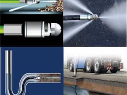Прочистка канализации труб от засора гидродинамическая илосо