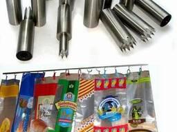 Зубчатые ножи (пуансоны) для высечки в пакетах типа wicket