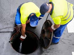 Прочистка канализации и канализационных труб Днепр