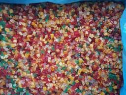 Продаем цукаты крошка микс апельсина