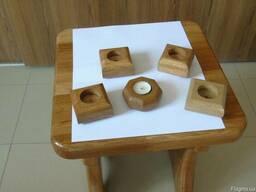 Продаем подсвечники деревянные