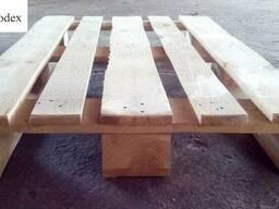Продаємо дерев'яний піддон 1200х800 полегшений (виробник)
