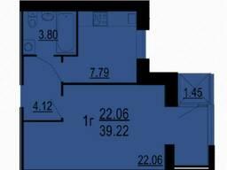 Продається 1к квартира в новобудові ЖК Сімейний комфорт
