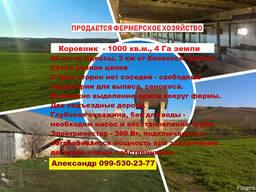 Продается фермерское хозяйство в 40 км от одессы по киевской
