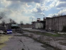 Продается территория с помещениями на Рудничной.