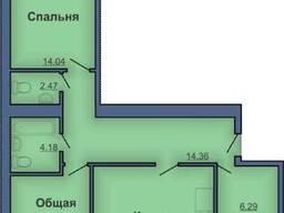 Продам 2- комнатную квартиру на Леваде.