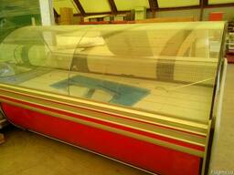 Продам 3 шт б\у витрин оригинальные Cold (Польша) длиной-2 м