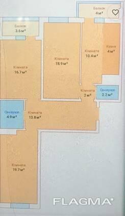 Продам 3х комнатную квартиру, ЖК Михайловский, Молдаванка