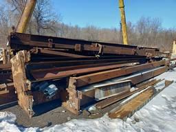 Продам; Ангар каркас 60х24х10, 5 метров. Днепр 85 тонн 17 грн кг.