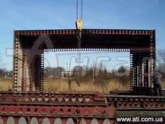Продам ангар металлический б/у типовой проект Пионер (УСРЗ).