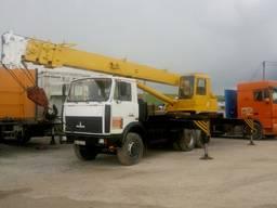 Продам автокран КС 55727-1 (машека)25 т. , стріла 28 метрів,