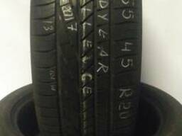 Продам б/у шины (2 шт.) Goodyear Excellence 255/45R20 в отли