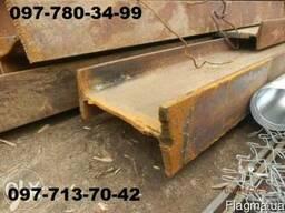 Продам балка, двутавровую БУ от 10 до 55 М, Б, Ш, Ш1, Ш2