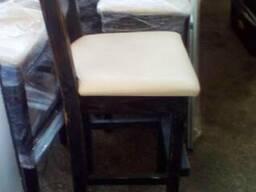 Продам барные стулья бу для ресторана с мягким сиденьем