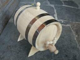 Продам бочки дубовые от 1л. под алкоголь