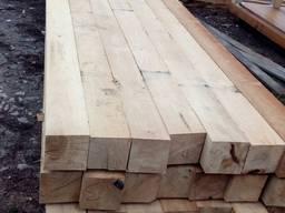 Продам брус дубовый строительный с подпаром