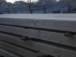 Продам брус сухий, профільований хвойних порід для будівництва