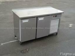 Продам бу холодильный стол для общепита из нержавеющей стали