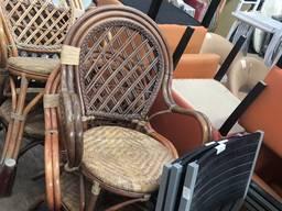 Продам бу кресла из лозы для кафе, ресторанов, баров