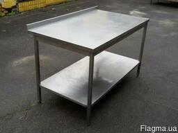 Продам бу производственные разделочные столы для кафе, общеп