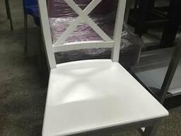Продам Бу стулья для кафе, белый-бук, 750грн