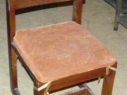 Продам бу стулья из массива ясеня с подушечкой