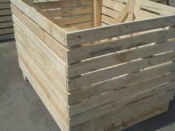 Продам деревянные контейнеры.