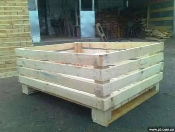 Продам деревьянные - контейнеры, ящики.
