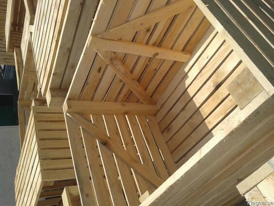 Продам деревьянные ящики, контейнеры.