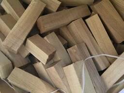 Продам древесные отходы из акации, бруски в мешках