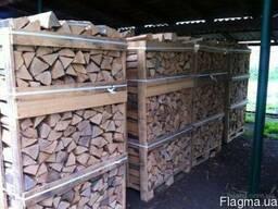 Продам дрова дуб колотые, метровки