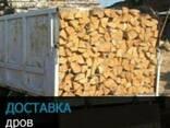 Продам дрова дубовые, рубленные, чурками розмер под заказ - фото 1