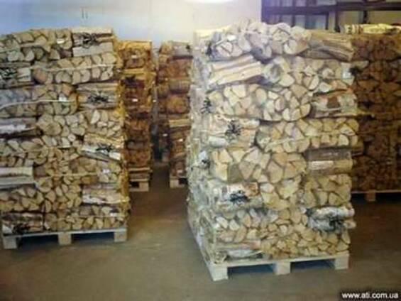 Продам дрова фруктовые. Дрова в мешках, сетках, навалом Киев