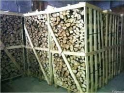 Продам дрова колотые ясень в ящиках на экспорт