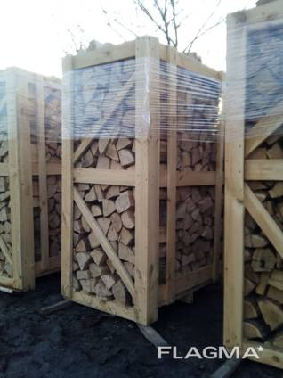 Продам дрова твердых пород дуб ясень клен в ящиках 2RM