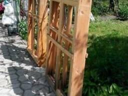 Продам два деревянных евроокна