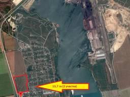 Продам фасадный участок 13.7 га. с. Новые Беляры\район порта Южный