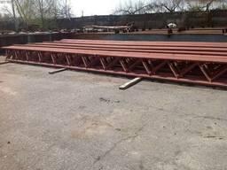 Продам фермы металлические 10-12 метров