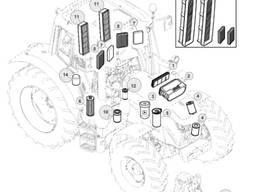 Продам фільтра для трактора Джон Дір 6125M